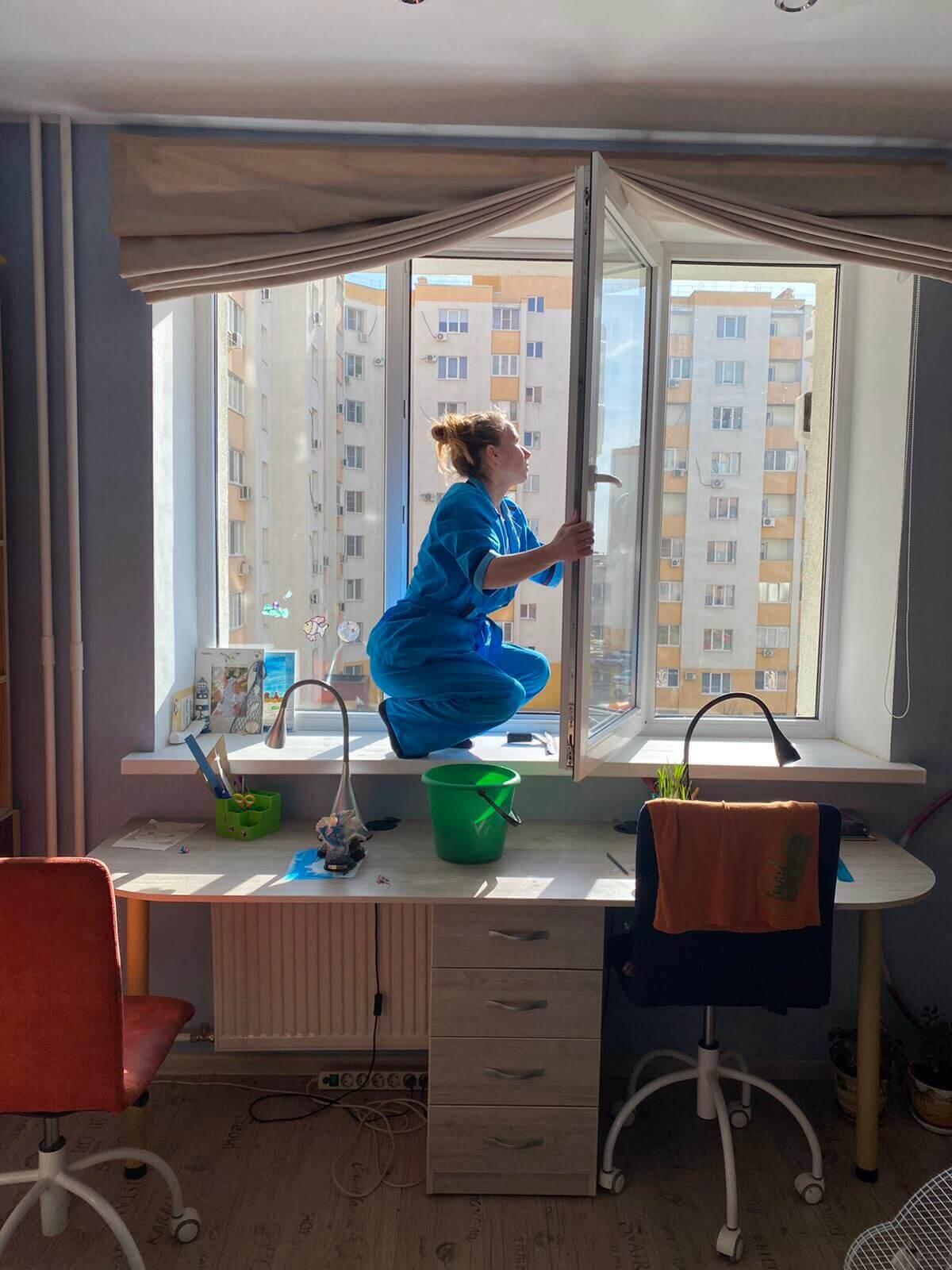 Мытье окон в Волгограде
